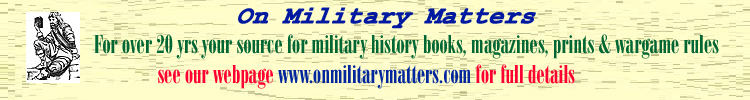 on military matters banner